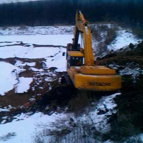 Выкопать котлован, планировка