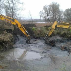 Выкопать озеро под ключ